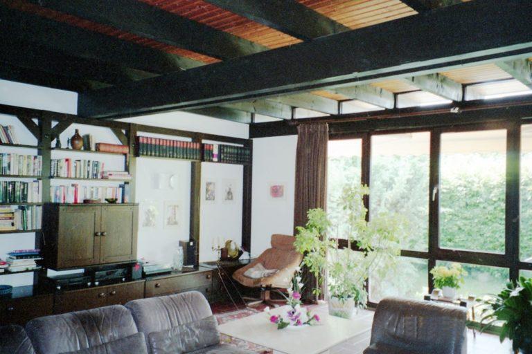 Einfamilienhaus nach Renovierungsarbeiten