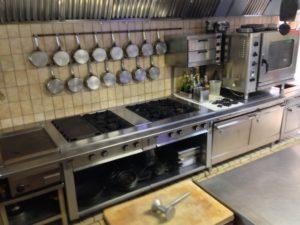 Gewerbeimmobilie – Uriges Gasthaus in Alleinlage – Restaurant Küche